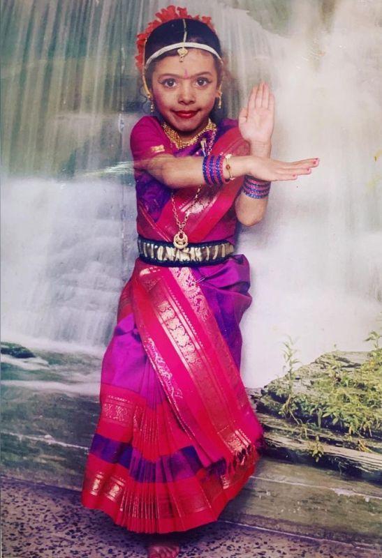 A Childhood Picture of Ankita Raina