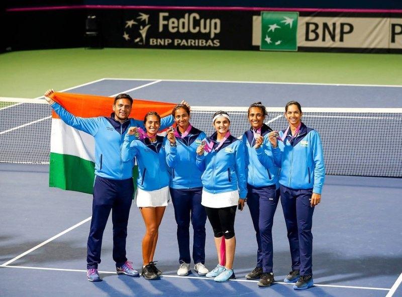 Ankita among Indian women's FedCup Team 2020
