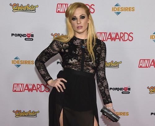 Dahlia Sky at the 2016 Adult Video News Awards