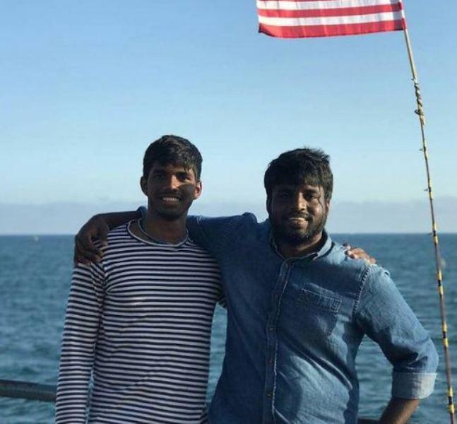 Satwiksairaj Rankireddy with his brother