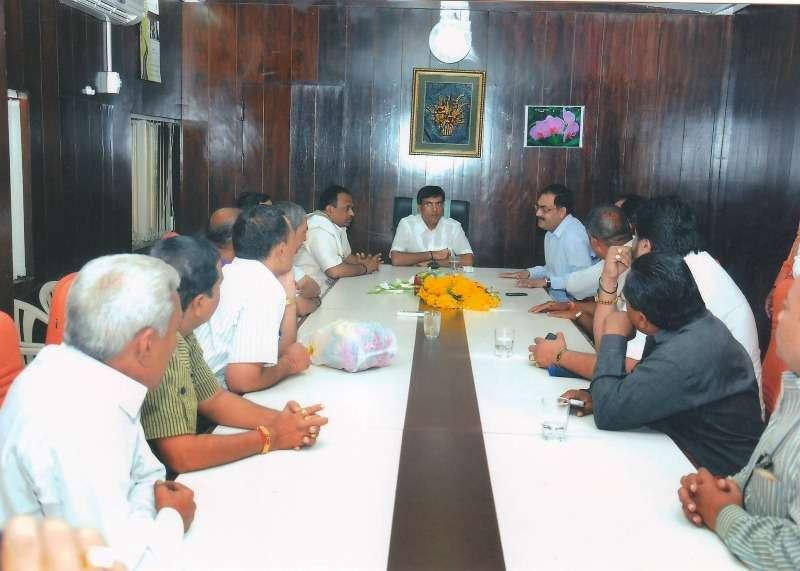 Mansukh Mandaviya as the Chairman of Gujarat Agro Industries Corporation Limited