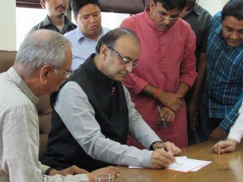 Mansukh Mandaviya after being appointed as the Gujarat State In-Charge - BJP Mega Membership Drive