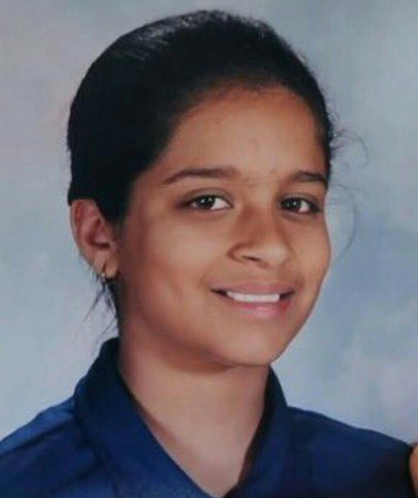 Lilly singh childhood photo