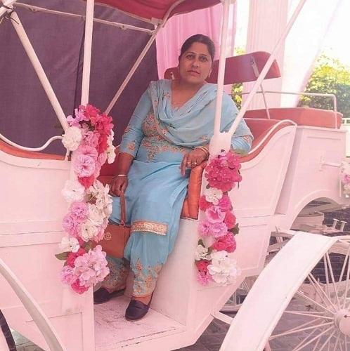 Parkashjit Singh's mother