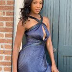 Maria Taylor Hot in Blue Skirt