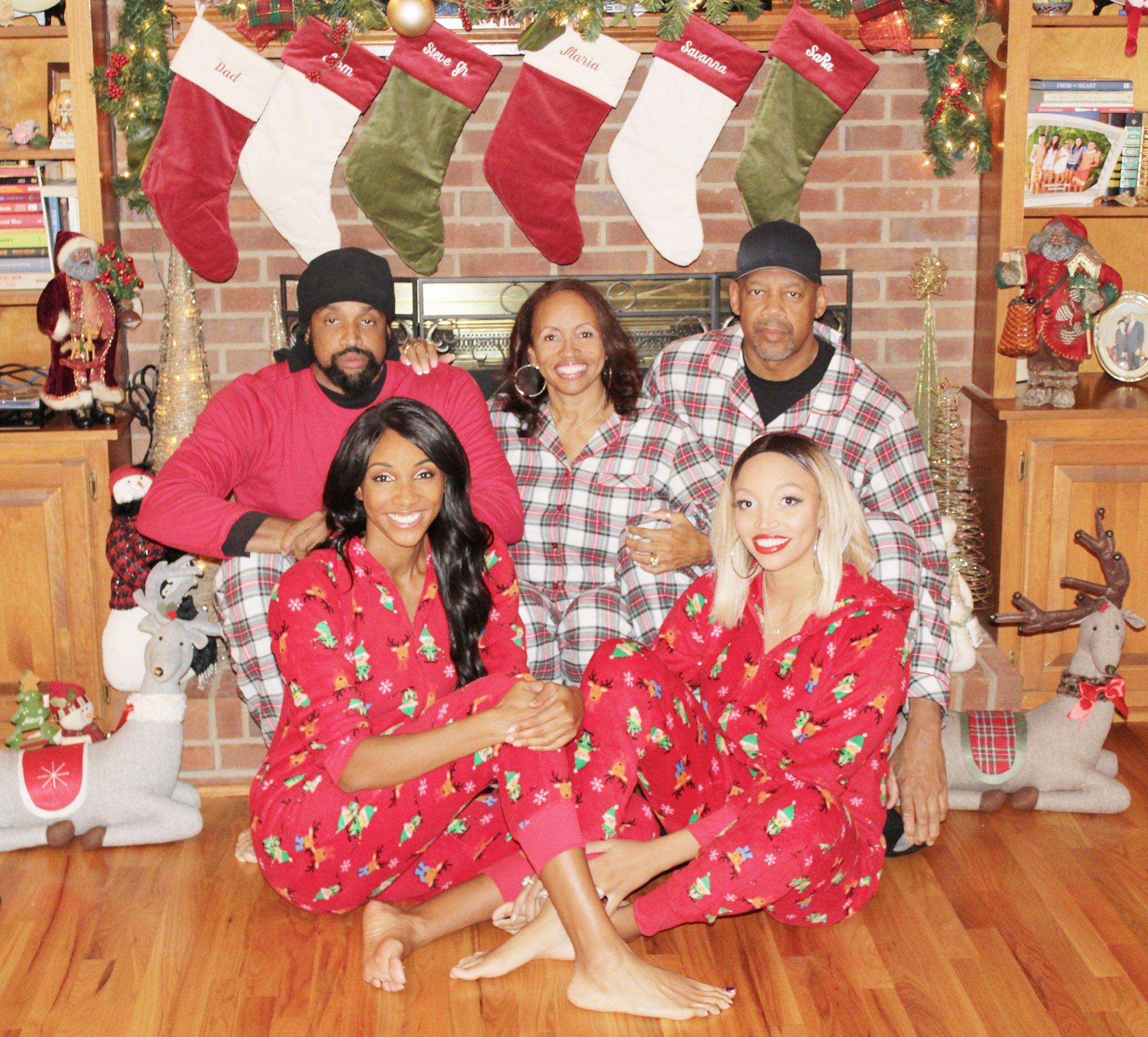 Maria Taylor Family Photo