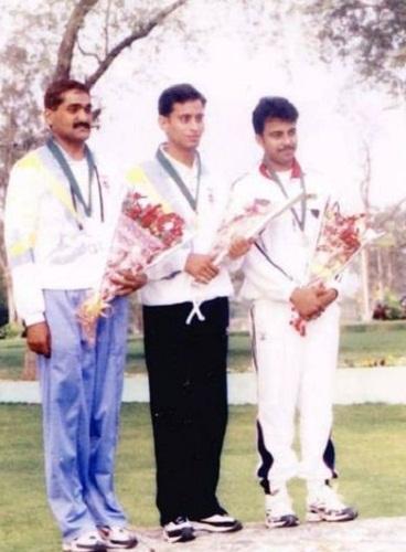 Sanjeev Rajput at the SAF Games 2004