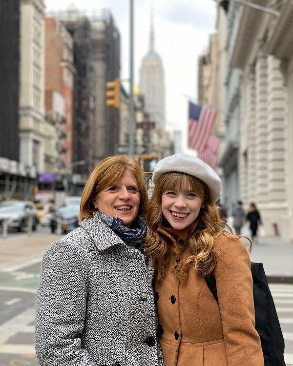 Hayley Arceneaux with her mother