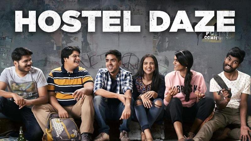 Luv Vispute on the poster of Hostel Daze 2