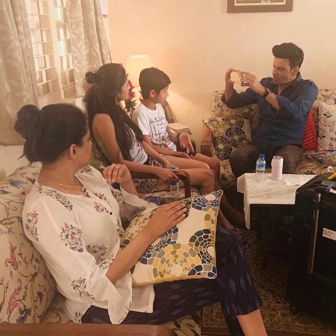 ashlesha thaakur with priyamani and family man 2 actors