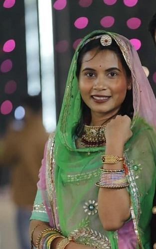 Aishwary Pratap Singh Tomar's sister Tanvi Ajit Singh Kushwah