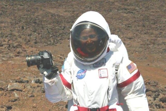 Sian Proctor during HI-SEAS mission