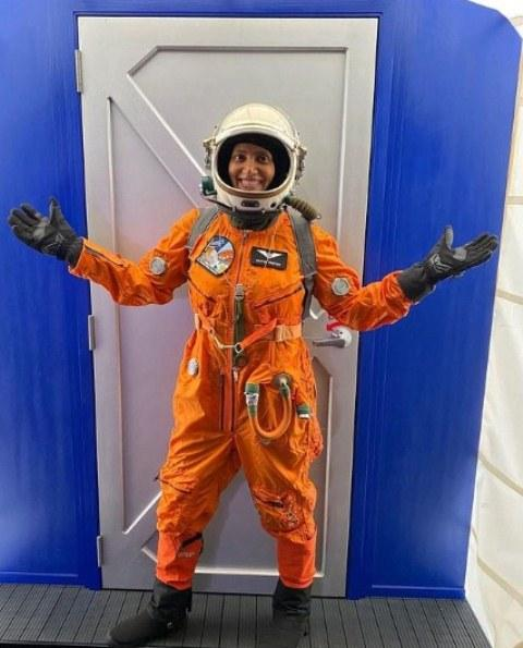 Sian Proctor during her SENSORIA Mars 2020 mission