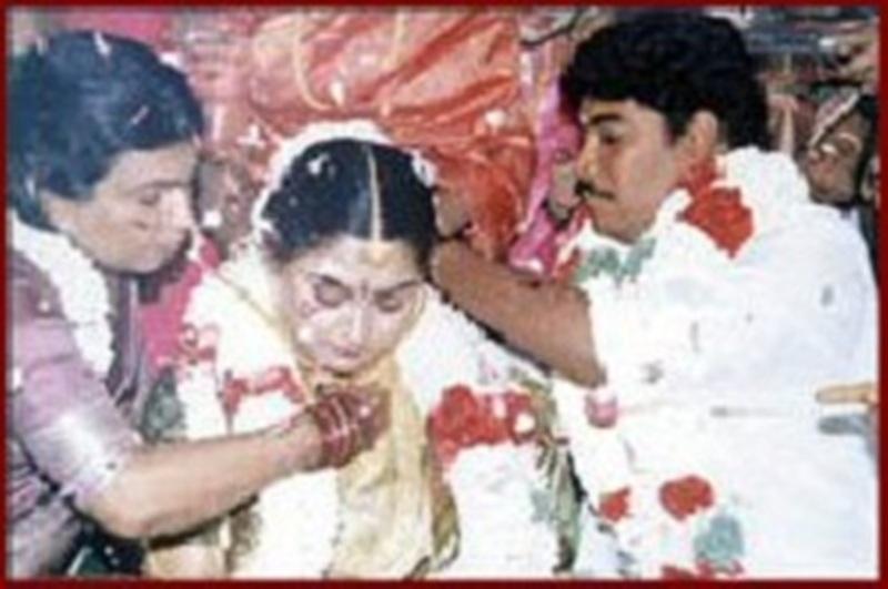 Khushbu on her wedding day