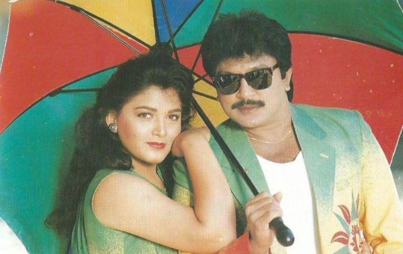 Khushbu Sundar with Prabhu Ganesan
