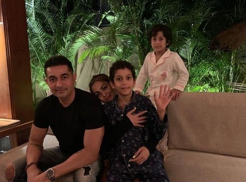 Shakeel Ladak and his family