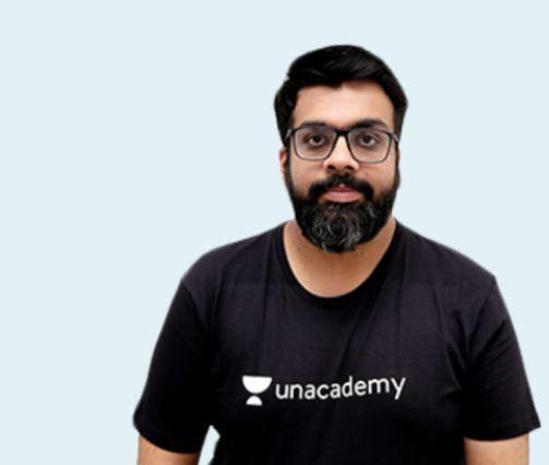 Atish Mathur as an educator at Unacademy