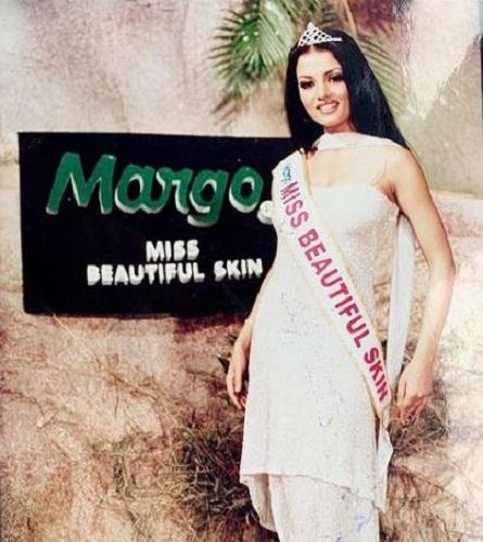Celina Jaitly- Margo Miss Beautiful Skin 2001