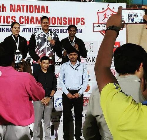 Kamalpreet Kaur on winning gold metal at Natioanl Athletic Championships