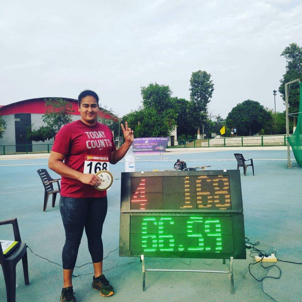 kamalpreet Kaur Record 65.06M