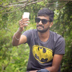 Gautham Avula taking selfie