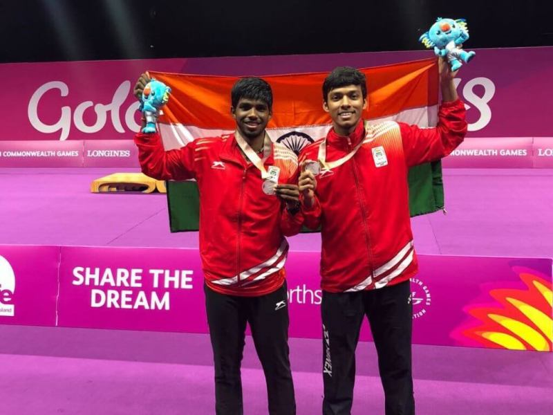 Chirag Shetty and Satwiksairaj won the gold medal at the 2018 Commonwealth Games
