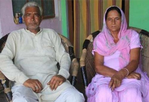 Seema Punia's parents