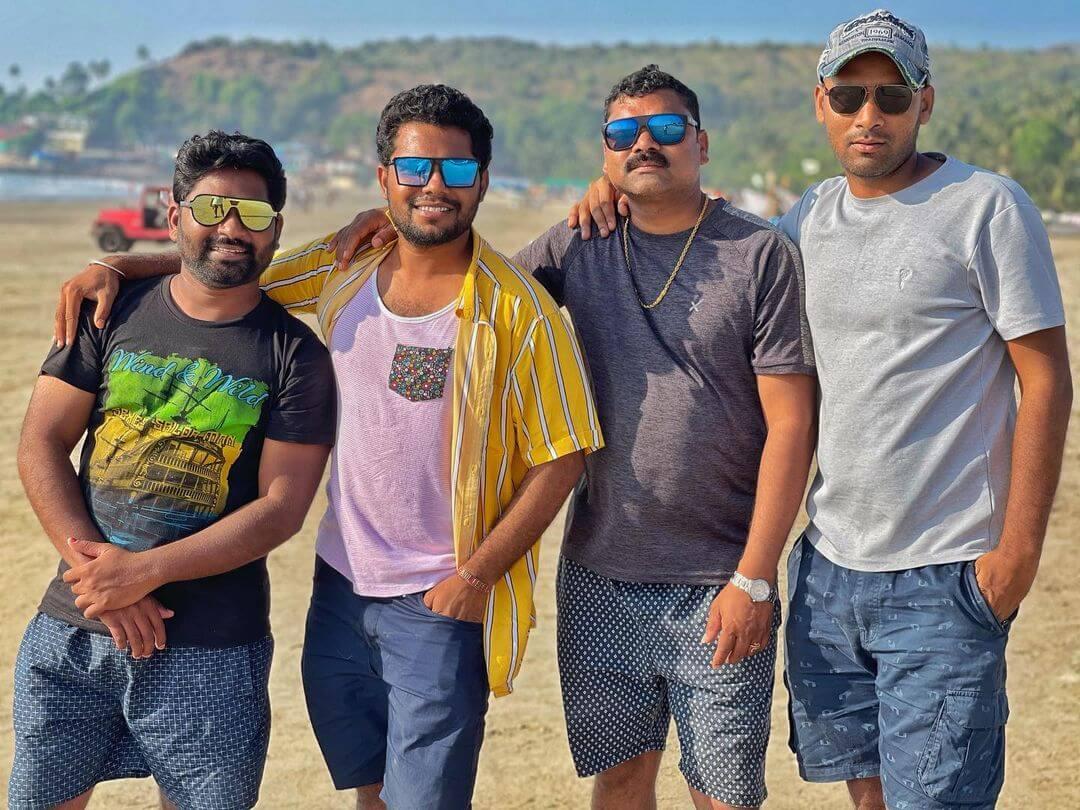 Anil Geela With My Village Show Team