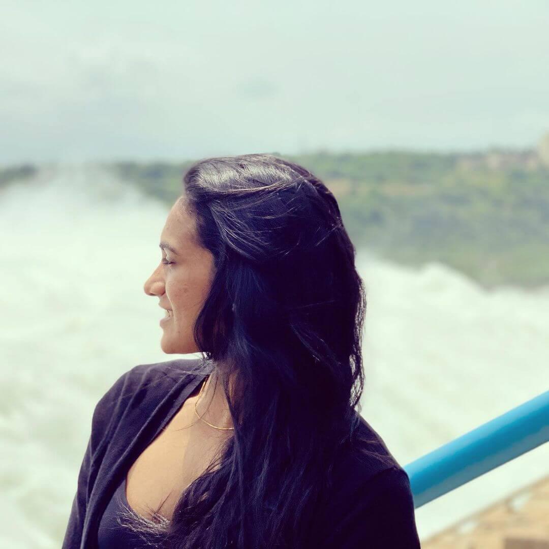 PV Sindhu closeup photo