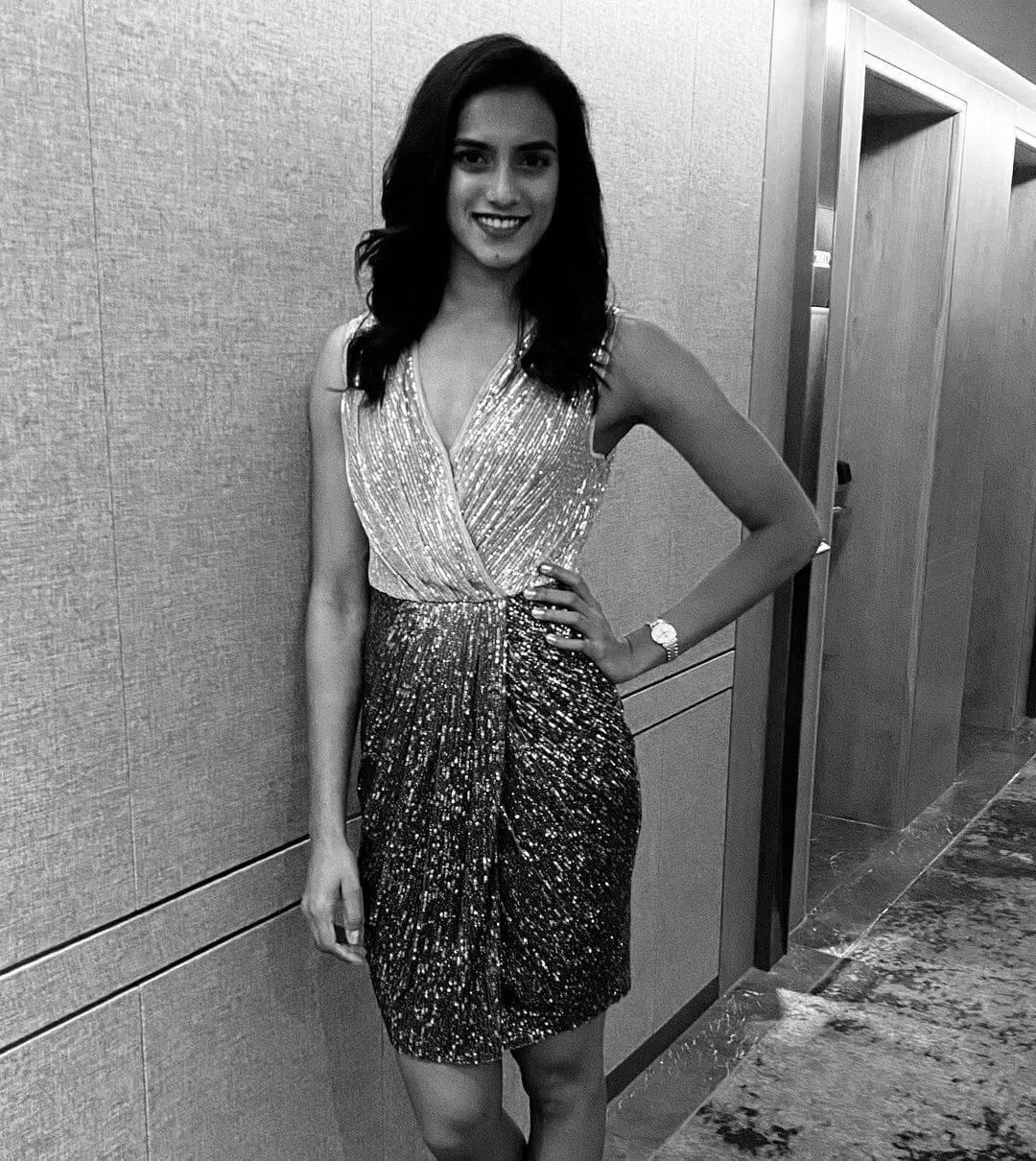 PV Sindhu in skirt