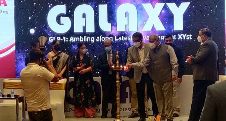 Dr. Hemant Kalra during the inaugration of Galaxy meet