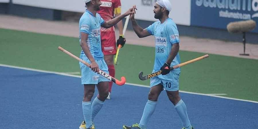 Simranjeet Singh during 2019 Sultan Azlan Shah Cup
