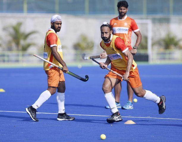 Simranjeet Singh during the Men's Rabobank Hockey Champions Trophy 2018