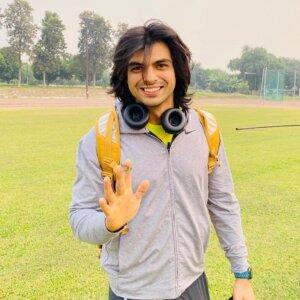 neeraj chopra new hairstyle