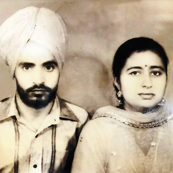 Manpreet Singh's parents