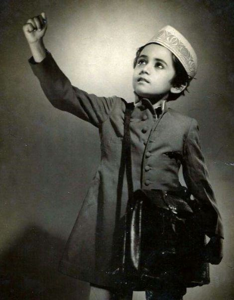 Nanda in childhood