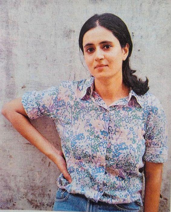 Young Sagarika Ghose