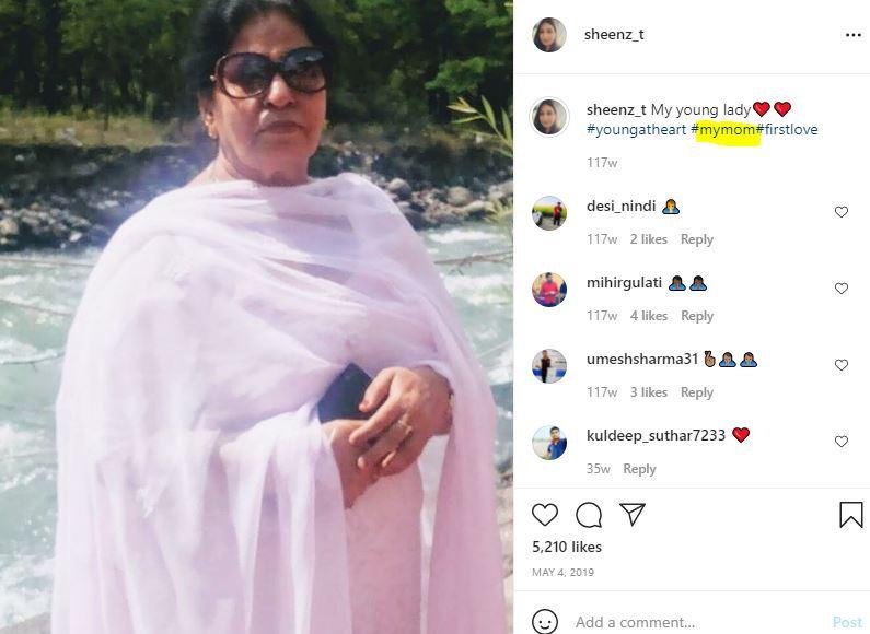 Shalini Talwar's mother