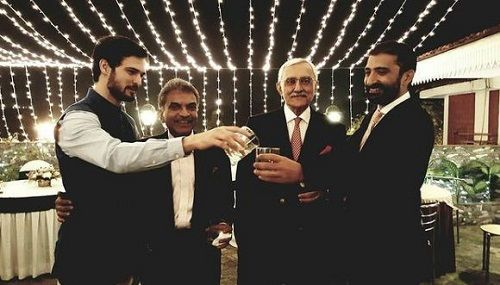 Ajit Sodhi in a party