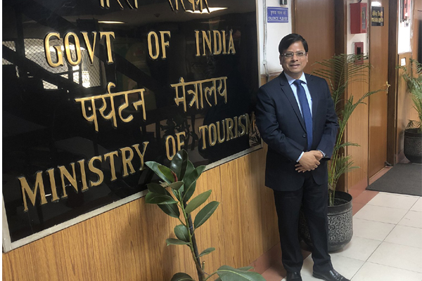 Rakesh Verma as the Joint Secretary of Ministry of Tourism